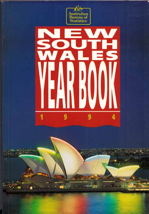 Image for New South Wales Year Book No 74 1994