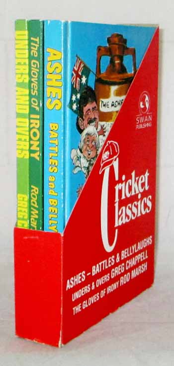 Image for Cricket Classics: Ashes - Battles & Bellylaughs; Unders & Overs; The Gloves of Irony (3 Books in Slipcase)