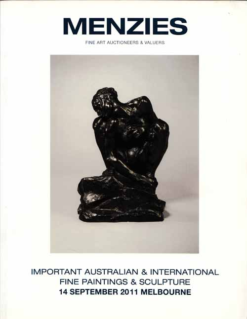 Image for Important Australian and International Fine Paintings and Sculpture 14 September 2011, Melbourne