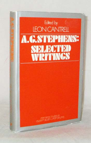 Image for A.G.Stephens: Selected Writings
