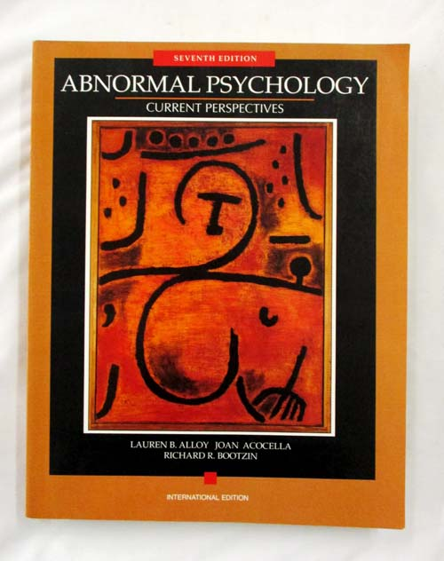 Image for Abnormal Psychology: Current Perspectives