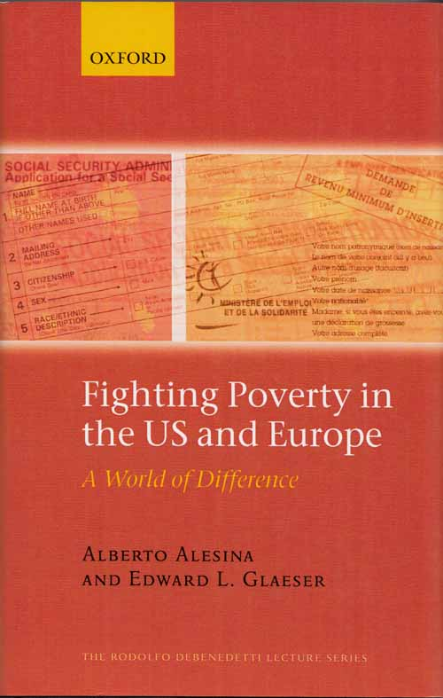 Image for Fighting Poverty in the US and Europe. A World of Difference