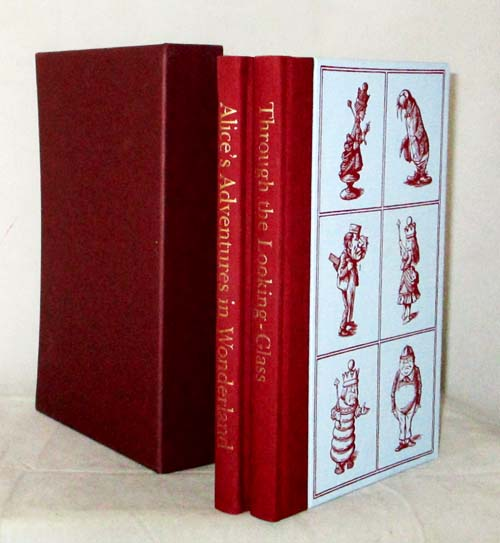 Image for Alices Adventures in Wonderland and Through the Looking-Glass and what Alice found there (2 Volumes in Slipcase)