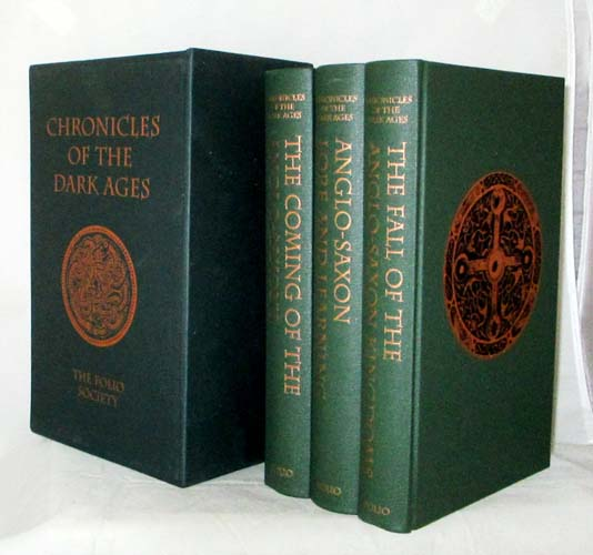Image for Chronicles of the Dark Ages: The Coming of the Anglo-Saxons; Anglo-Saxon Lore and Learing; The Fall of the Anglo-Saxon Kingdoms [3 Volumes in Slipcase]