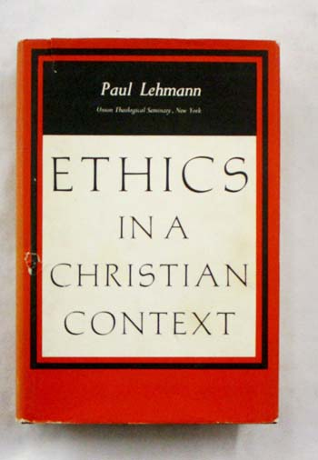 Image for Ethics in a Christian Context