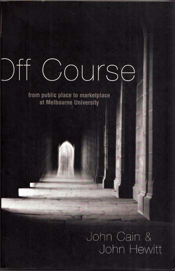 Image for Off Course From Public Place to Marketplace at Melbourne University