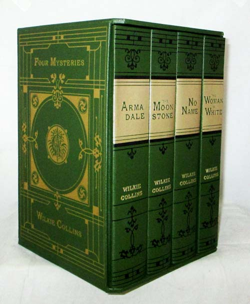 Image for Four Mysteries [Four Volumes - Armadale, The Moon Stone, No Name & The Woman in White]