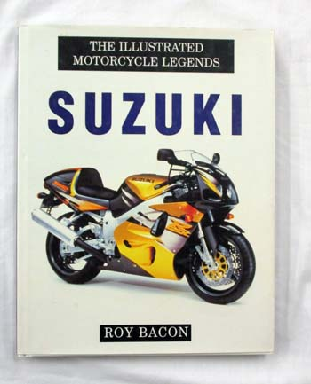 Image for The Illustrated Motorcycle Legends - Suzuki