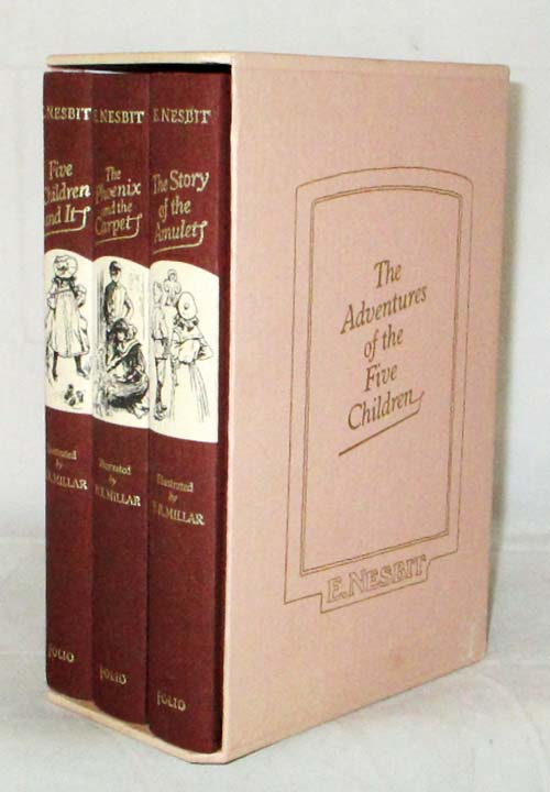Image for The Five Children and It; The Phoenix and The Carpet; The Story of the Amulet (Three Volumes in Slipcase)