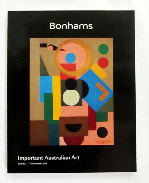 Image for Important Australian Art Auction Catalogue Sydney 14 November 2018