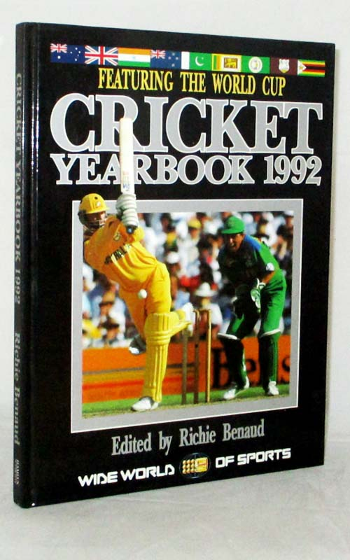Image for Cricket Yearbook 1992