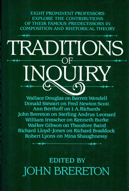 Image for Traditions of Inquiry