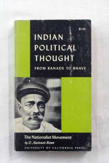 Image for The Nationalist Movement Indian Political Thought from Ranade to Bhave