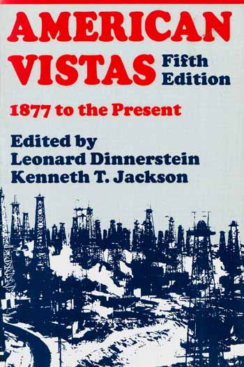 Image for American Vistas 1877 to the present