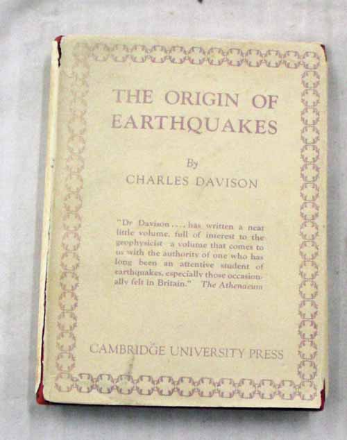 Image for The Origin of Earthquakes
