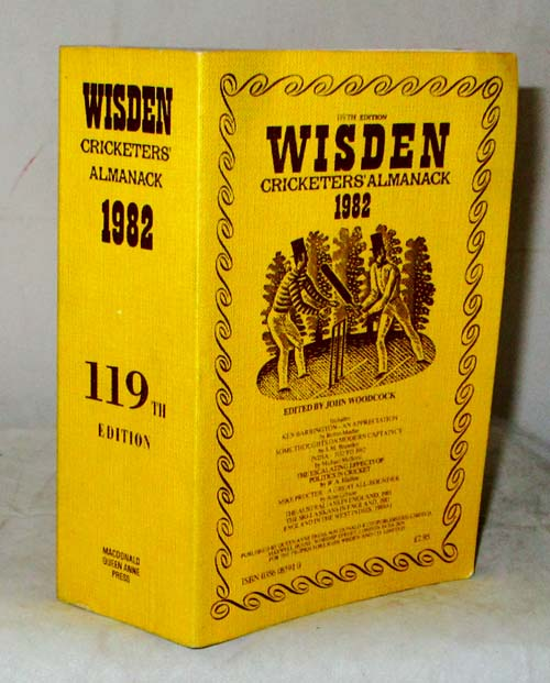 Image for Wisden Cricketers' Almanack 1982