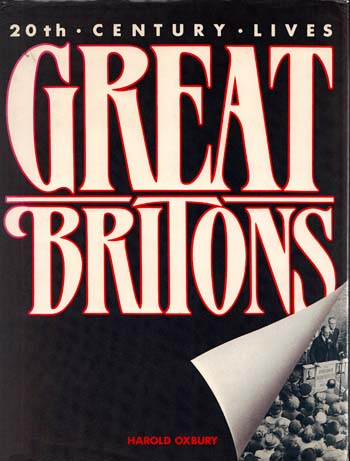 Image for GREAT BRITONS: Twentieth Century Lives
