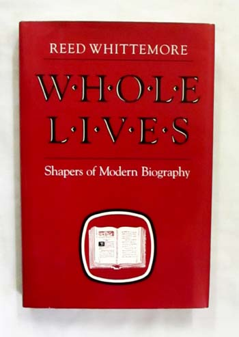 Image for Whole Lives: Shapers of Modern Biography